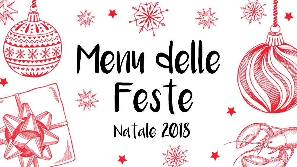 Menu feste di Natale 2018
